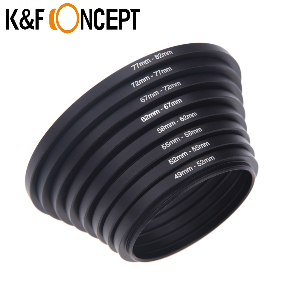 K&F Concept Metal Stepping Rings Step Down Ring